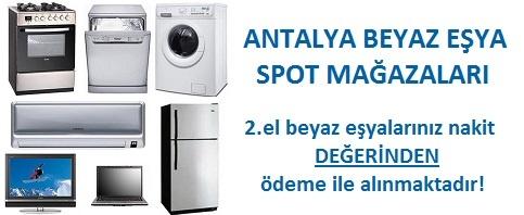 Antalya beyaz eşya spot mağazaları
