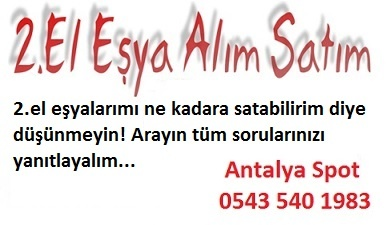Antalya spot eşya fiyatları